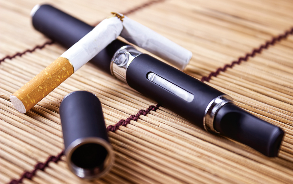 Harm reduction: there's evidence that vaping helps~
