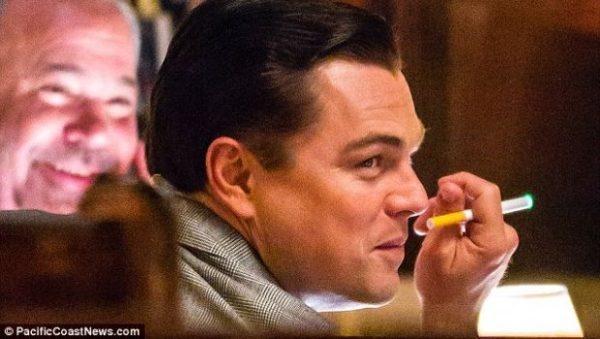 Leo at a press conference!